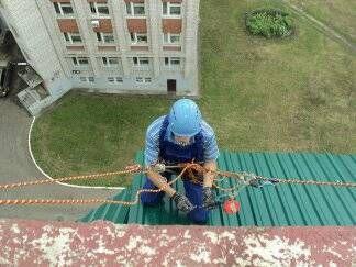 Услуги промышленных альпинистов в новосибирске